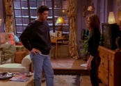 "Ross and Rachel from ""The One With the Morning After"" episode of Friends, in which the characters break off their romantic relationship."