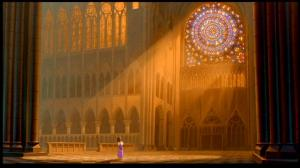 Is it bad that we didn't realize the majestic splendor of stain-glass windows until seeing one animated in this movie?