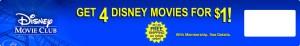 Disney Movie Club Banner