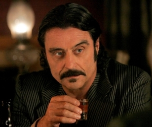 DEADWOOD: Ian McShane. photo: Doug Hyun