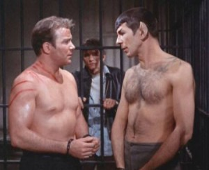 star trek kirk-and-spock-shirtless-300x245
