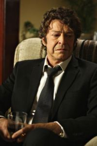 When reading the book, just imagine Walter with this hair but far fewer wrinkles.