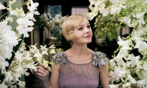 Carey Mulligan as Daisy Buchanan in Baz Luhrmann's forthcoming adaptation of The Great Gatsby.