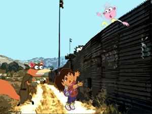 Dora_At_The_Border_by_AmethystRealm