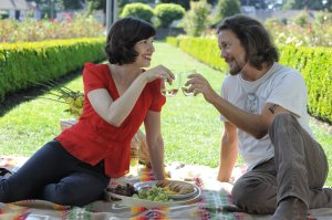 Carrie Brownstein and Eddie Vedder, two serious musicians who are secretly funny, former drama class nerds.