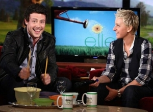 He once re-created his charming Glee audition during an appearance on Ellen.