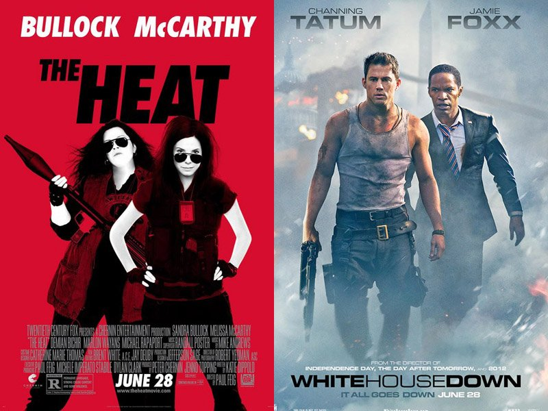 The Heat Hits White House Goes Down World War Z Steady Other Box