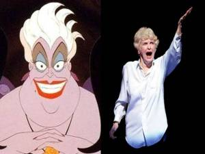 UrsulaElaine Stritch Little Mermaid