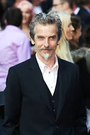 Capaldi, at the World War Z premiere. At least these zombies didn't wear gas masks.