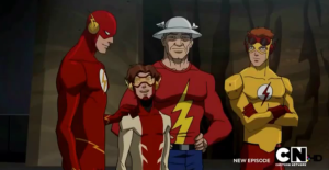 Young Justice Flash