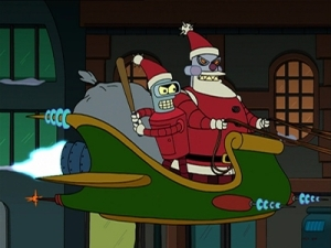 Futurama Tale of Two Santas