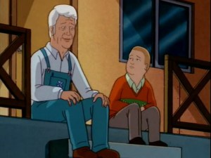 King of the Hill Father Son JC