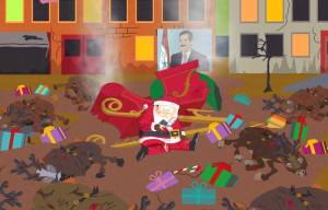 South Park Red Sleigh Down
