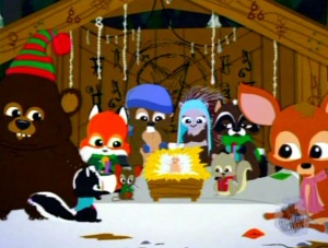 South Park The_Anti-Christ_&_the_Woodland_Critters