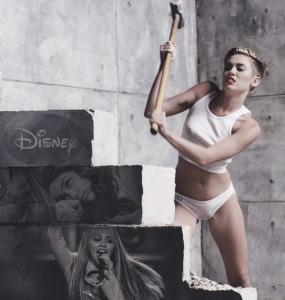 Wrecking Her Disney Image