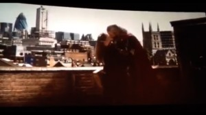Thor Dark World final kiss