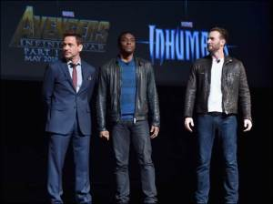 Trio Marvel Phase 3