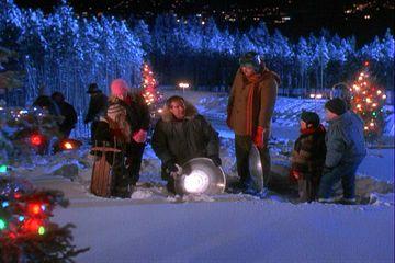 christmas snow - Christmas Vacation Sled