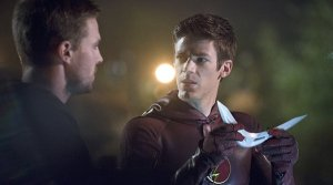 Flash v Arrow Boomerang