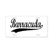 barracuda_aluminum_license_plate