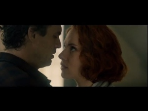 Age of Ultron Black Widow Bruce Banner