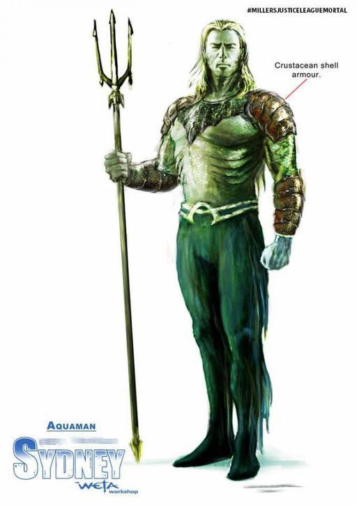 JL Mortal Aquaman