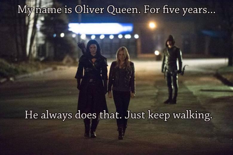 Oliver Queen Joke