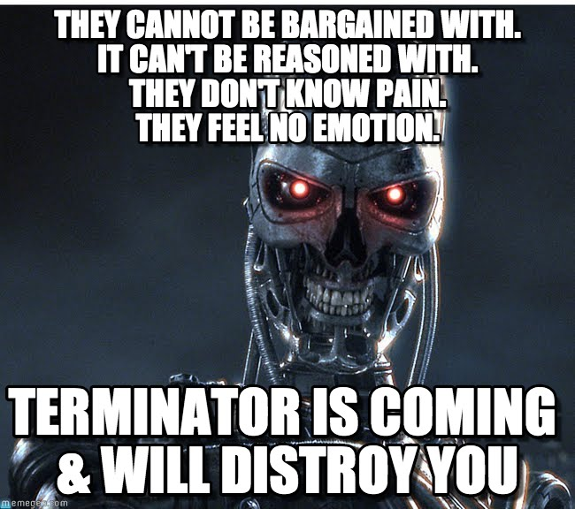terminator the fight for the species essay Requesting the removal of an essay many of our free essays are supplied by students as learning resources for other students if you see an essay on our website that.