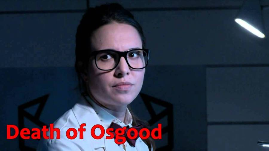 Death of Osgood Doctor Who