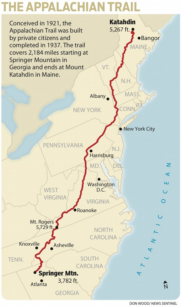 """bryson the appalachian trail hiker essay The appalachian trail trail stretches from georgia to maine and covers some of  the  but a walk in the woods is more than just a laugh-out-loud hike  """"bill  bryson could write an essay about dryer lint or fever reducers and still make us."""
