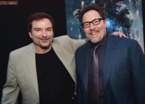 shane-black-and-jon-favreau-at-event-of-iron-man-3-(2013)-large-picture