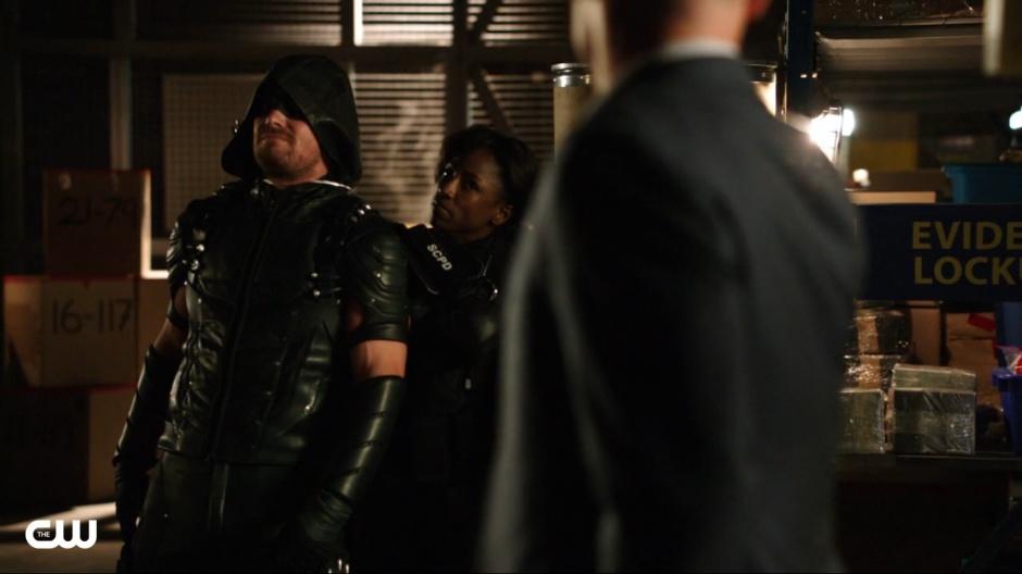 Arrow Beyond Redemption Lady Cop