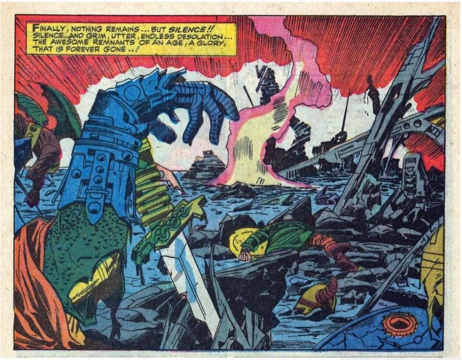 Thor Ragnarok Comics