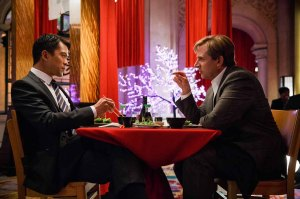 Left to right: Byron Mann plays Mr. Chau and Steve Carell plays Mark Baum in The Big Short from Paramount Pictures and Regency Enterprises