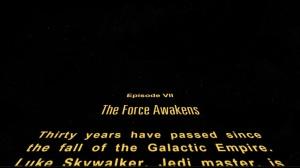Force Awakens Crawl