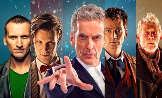 The-five-modern-Doctors