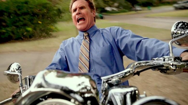 Will Ferrell Motorcylce