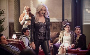"""The Flash -- """"Welcome to Earth-2"""" -- Image FLA213b_0282b -- Pictured: Danielle Panabaker as Killer Frost -- Photo: Diyah Pera/The CW -- © 2016 The CW Network, LLC. All rights reserved."""