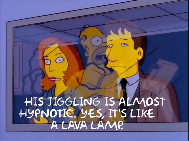 Simpsons It's Like A Lava Lamp
