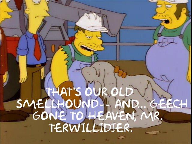 Simpsons Smellhound