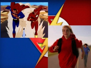 SupermanvsFlashAnimatedandLive