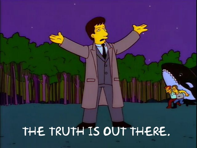 X-Files Truth Simpsons