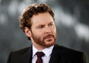 Sean Parker, co-founder of Napster Inc. and managing partner of the Founders Fund, listens during a television interview on day three of the World Economic Forum (WEF) in Davos, Switzerland, on Friday, Jan. 27, 2012. The 42nd annual meeting of the World Economic Forum will be attended by about 2,600 political, business and financial leaders at the five-day conference. Photographer: Simon Dawson/Bloomberg via Getty Images