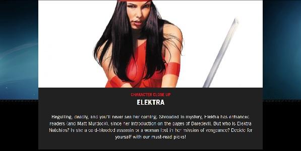 Elektra Closeup