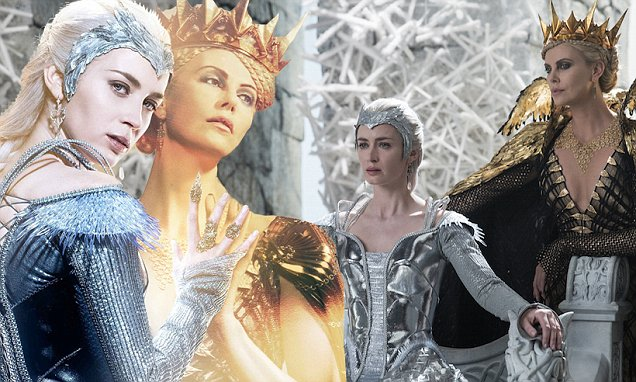 Emily Blunt & Charlize Theron Are So Fierce in New 'Huntsman' Images! MORE: Emily Blunt & Charlize Theron Are So Fierce in New 'Huntsman' Images! | Charlize Theron, Chris Hemsworth, Emily Blunt, Jessica Chastain : Just Jared | http://www.justjared.com/2016/01/06/emily-blunt-charlize-theron-are-so-fierce-in-new-huntsman-images/?trackback=tsmclip Visit:Just Jared | Twitter | Facebook
