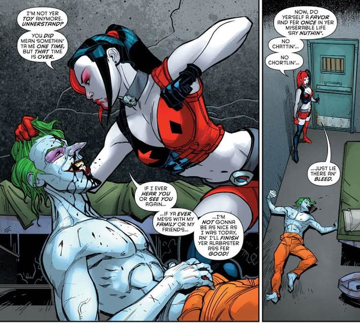 harley-beats-the-joker-to-a-pulp-dc