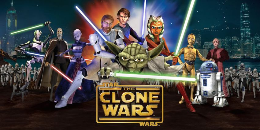 STAR WARS REBEL's predecessor THE CLONE WARS