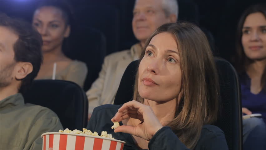 woman-not-laughing-movie-theater