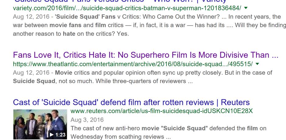 Suicide Squad Fan Reaction