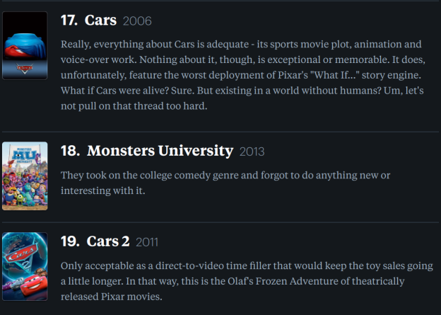 Ranking Pixars Movies PostCoco We Minored In Film - Heres how pixar copy scenes from other movies